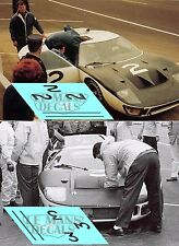 Calcas Ford MkII Le Mans 1966 Test 1:32 1:24 1:43 1:18 slot GT40 decals