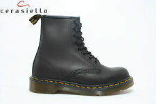 505 Anfibio DR Martens nero ingrassato art 1460 11822003 1460 GREASY BLACK