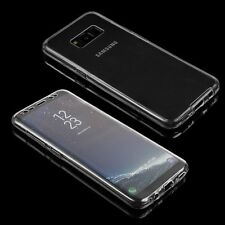 Cover Case For Samsung Galaxy S8 Ultra Thin Slim 360 Silicone TPU Gel Pouch