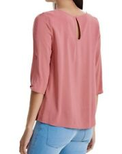7087 Only mujer 3/4 Camisa de manga cuello redondo blusa top