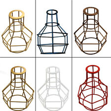 New Edison Nest Lampshade Vintage Ceiling Light Fitting Lamp Bulb Cage Bar Cafe
