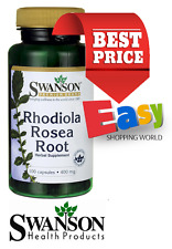 Rhodiola Rosea Root Swanson From £7.20 *Energy, fatigue, sleep, stress, appetite