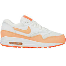 Nike Wmns Air Max 1 Essential Sneaker donne scarpe bianco NUOVO 90 599820-114