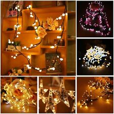 Various LED String Lights Lamp Fairy Christmas Wedding Party Holiday Home Decor