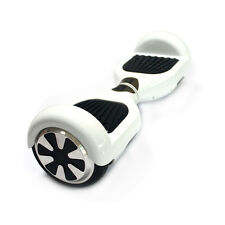 """New 2 Wheels 6.5"""" Smart Self Balancing Electric Scooter Hoverboard UL2272-White"""