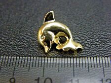 Pack of 5 Gold Dolphin Buttons or Silver Dolphin Buttons Baby Buttons