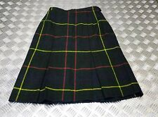AUTHENTIQUE British Army Production écossais laine UNIFORME ROBE JUPE Not KILT