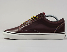 VANS scarpe uomo Old Skool Ground breakers maroon leather vintage