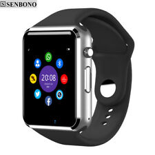 Bluetooth Smart Watch Sport Pedometer With SIM Camera For Android Smartphone