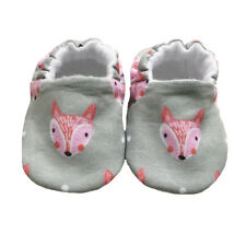 baby pram shoes, soft sole shoes, crib shoes, first walkers, bibs in Grey Foxes