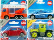 Siku Diecast Police Car Tractor Fire Engine Emergency VW etc Choice of Vehicle