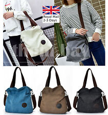 Quality Canvas Ladies Women Tote Shoulder Handbag Messenger Crossbody Bag