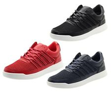 Mens Designer Crosshatch Trainers webbing Boots Sneakers Light Weight Shoes