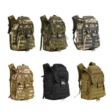 40L Large Molle Assault Pack Tactical Military Hiking Climbing Backpack Rucksack
