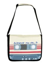Guardians Of The Galaxy Mixtape Vol 2 Black Messenger Bag