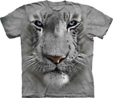 """The Mountain T-Shirt """"White Tiger Face"""""""