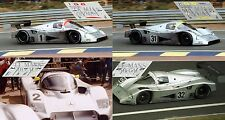 Calcas Mercedes Sauber C11 Le Mans 1991 1:32 1:43 1:24 1:18 decals Schumacher