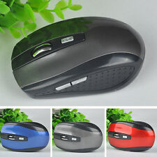 2.4GHz Genuine Wireless Cordless Optical Scroll DPI Mouse USB PC Computer Laptop