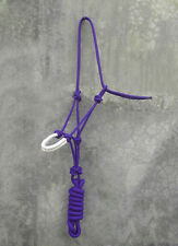 ROPE HALTER PADDED ON NOSE FOR PARELLI NATURAL HORSEMANSHIP IN 5 COLORS