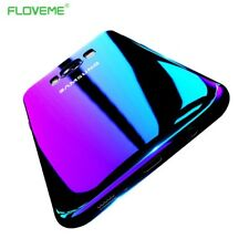 For iPhone 7 6s 6 Plus Samsung Galaxy S6 S7 S8 Phone Case Cover Edge Blue-Ray