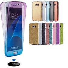 Shockproof 360° Protective Clear Gel Case Cover For Samsung Galaxy Model