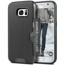 Samsung Galaxy S7 Case Wallet Case Card Pocket Shockproof Dual Protective Impact