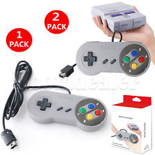 Super Nintendo Entertainment System Classic SNES Mini Wired Controller Game Pad