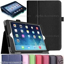 Cuero Libro Funda con Soporte para Apple iPad 4 3 2 , MINI 4,3, air pro