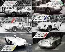 Calcas Porsche 550 RS Le Mans 1955 1:32 1:24 1:43 1:18 1:64 1:87 slot decals