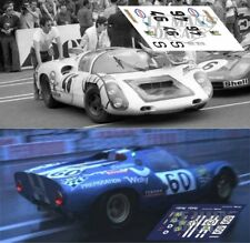 Calcas Porsche 910 Le Mans 1970 46 60 1:32 1:43 1:24 1:18 decals