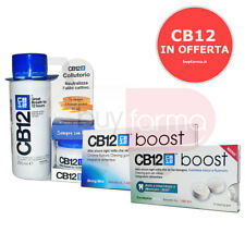 LÍNEA CB12 HALITOSIS: Enjuague bucal de 250 ml CHEWING GUM BOOST MENTA ED