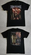 """Cradle of Filth official T-shirt """"The manticore...world tour2013"""" black  NEW (L)"""