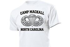 us army Airforce Paratrooper Training Camp Mackall Maglietta 3-5xl USMC