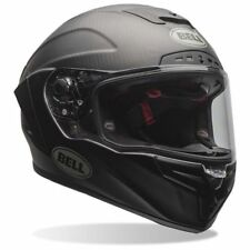 CASCO INTEGRAL BELL RAZA STAR SOLID NEGRO MATE XS S M L XL XXL CARBONO