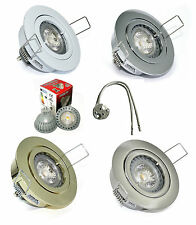Decken Strahler Lana 12V GU5,3 MR16 LED 5 Watt = 35 Watt IP20