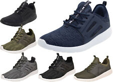 New Mens Crosshatch Trainers Lightweight Running Athletic Gym Sports Shoes