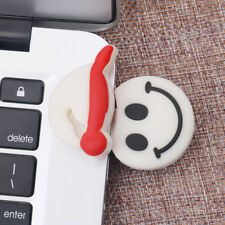 USB 2.0 Flash Drive Jump Drives Pendrive Christmas Smile Face Model for PC