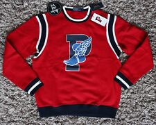 Polo Ralph Lauren The Stadium Crew Sweater Jumper P-Wing 1992  Red XL Large New