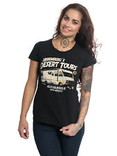 Breaking Bad Heisenberg Desert Tours Damen T-Shirt Schwarz