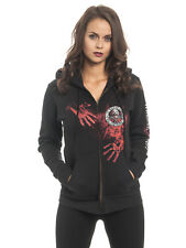 The Walking Dead Walker Security Kapuzenjacke für Damen Schwarz