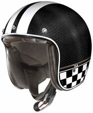 X-Lite X-201 Ultra Carbon Willow Springs Demi Jet Helm