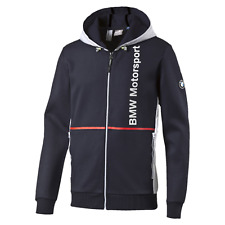 BMW Motorsport Official Men's Hooded Sweat Jacket - clearance price Size Small