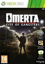 JUEGO XBOX 360 OMERTA CITY OF GANGSTERS X360 1884009