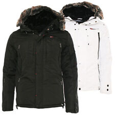 Geographical Norway giacca invernale uomo NUOVO Cluses Inverno a vento 2 colori