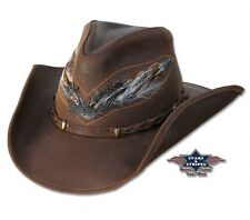 Cappello Western Paese mod: OUTBACK pelle promo