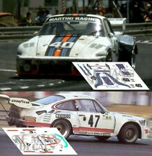 Calcas Porsche 935 Le Mans 1976 40 1:32 1:43 1:24 1:18 decals