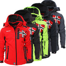 Geographical Norway Rova Uomo Giacca Softshell Uomo Giacca invernale S-XXL