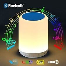 Smart LED Bluetooth Night Light Speaker 5W Wireless Hanging Touch Sensor Lamp