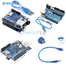 Ethernet Shield W5100 SD Slot Expansion Board+UNO R3 Board  For Arduino