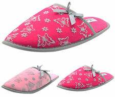 Womens Winter Slippers Soft Warm Comfort Ladies Slip on Mules Shoes Indoor